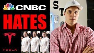 Why CNBC HATES Tesla Stock & Elon Musk