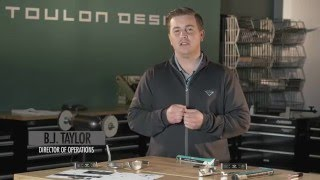 Toulon Design: CounterBalanced Putters