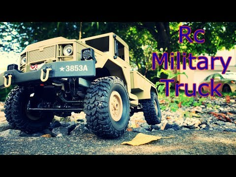 Awesome 4WD RC Military Truck Review – Hobbyinrc