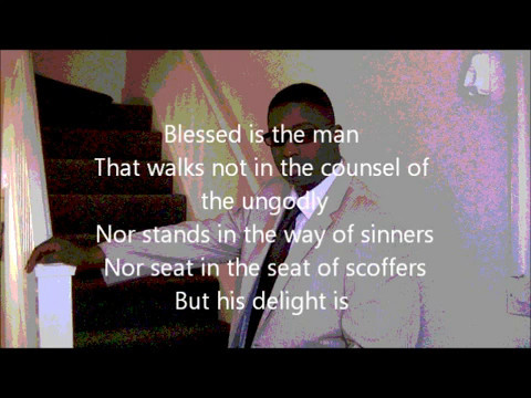 Blessed Man 0305 2012 Lyrics.wmv