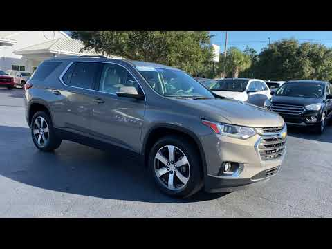 Pre-Owned 2018 Chevrolet Traverse FWD 4dr LT Leather w/3LT