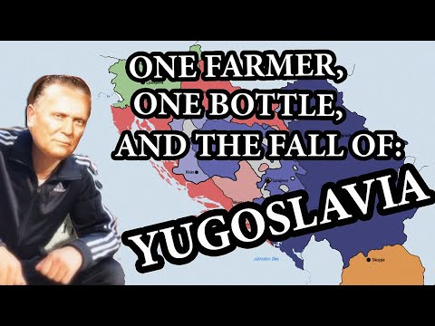 How shoving a bottle up a farmer's a** caused the fall of Yugoslavia | Weird History