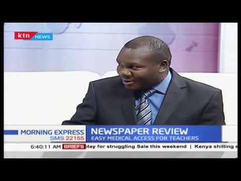 Newspaper Review: EACC officers raid Obado's homes in Migori, Nairobi