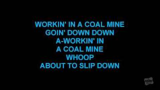 Working In The Coal Mine in the style of Devo karaoke song with lyrics
