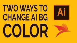 how to change the background color in adobe illustrator cc quick