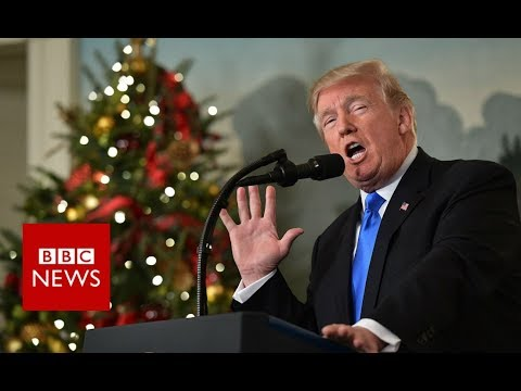 Jerusalem is Israel's capital: Donald Trump's FULL ANNOUNCEMENT - BBC NEWS