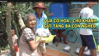 Làm Việc Thiện  Cô Hoa Và Chú Khánh Gửi Tặng Bà Con Nghèo 40 Phần Quà