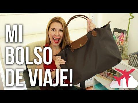 QUÉ LLEVO EN MI BOLSO DE VIAJE / What's in my travel bag | Ceci de Viaje