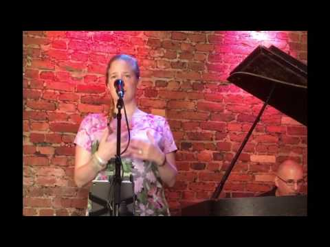 Original song 'Smile' live performed by Vivienne Aerts and Jon Davis on the piano at Rockwood Music Hall, Nyc