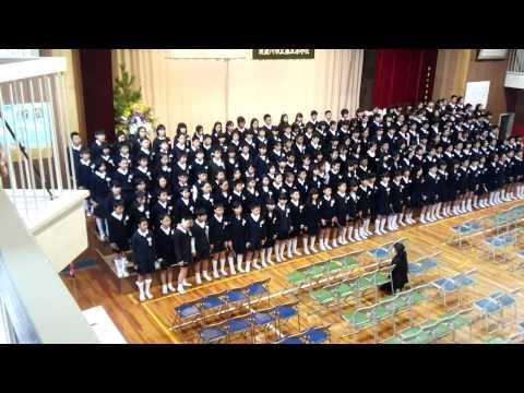 寝屋川市立第五小学校卒業式(2014/3/18)