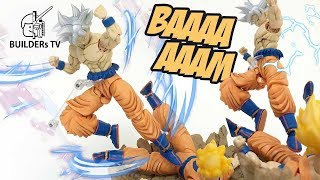 Dragon Ball Super Stop Motion - Figure-rise Standard Son Goku Ultra Instinct Speed Build Review