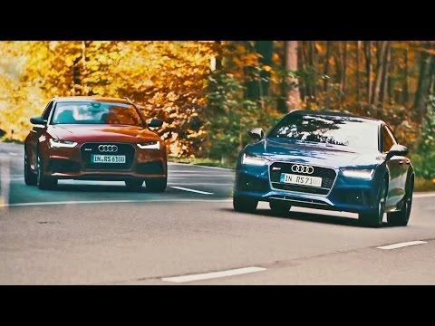 Audi  RS6 Avant Универсал класса A - рекламное видео 2