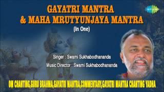 Gayatri Mantra & Mahamrityunjay Mantra | Hindi Devotional Song | Swami Sukhabodhananda