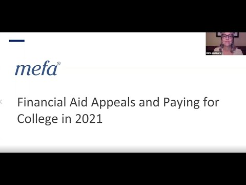 Financial Aid Appeals and Paying for College in 2021