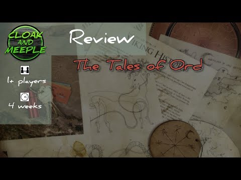 Cloak & Meeple Review, The Tales of Ord (PostCurious) *No Spoilers*