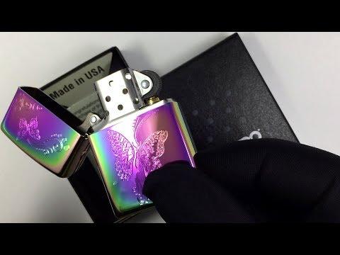 28442 Зажигалка Zippo Butterfly Spectrum