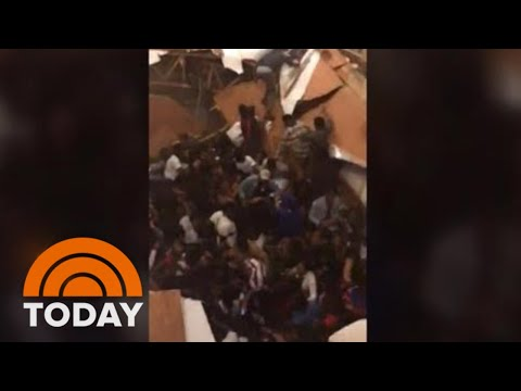 Dozens Injured After Floor Collapses During Clemson Homecoming Party   TODAY