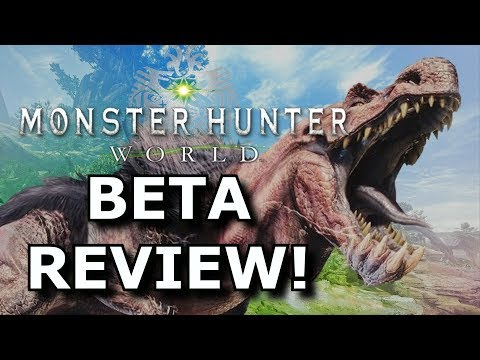 Monster Hunter World BETA Review! Different But Cool? (PS4)