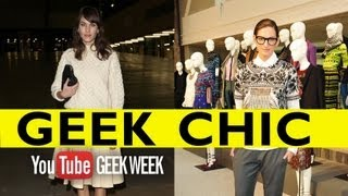 Get The Fashion Geek Look - Zooey Deschanel, Alexa Chung, Jenna Lyons
