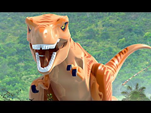 LEGO Jurassic World & Jurassic Park All Cutscenes Movie