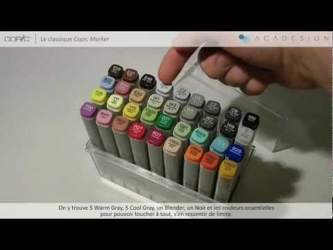 comment colorier au marqueur