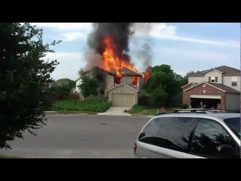 House Fire on Sunbird Lake - 4/10/2012