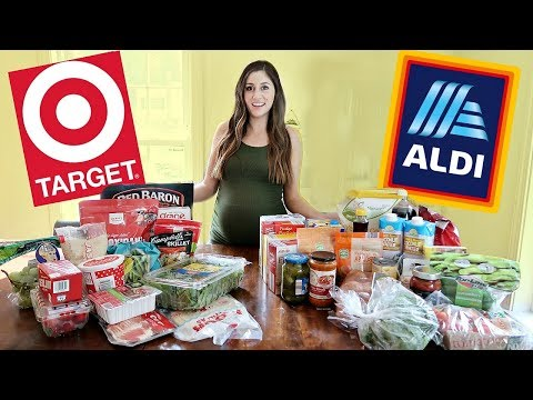 Aldi Vs. Target $50 Grocery Haul    WHICH IS BETTER?