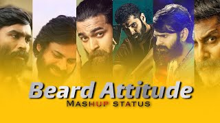 😎Beard Mashupwhatsapp status video Telugu | Beard🧔 Love status video telugu |🔥Mr.B CREATION