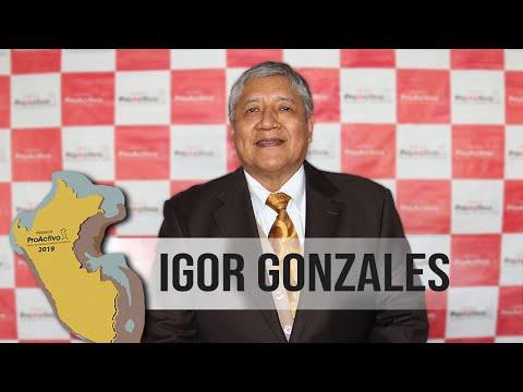 #PremiosProActivo 2019: Entrevista a Igor Gonzales