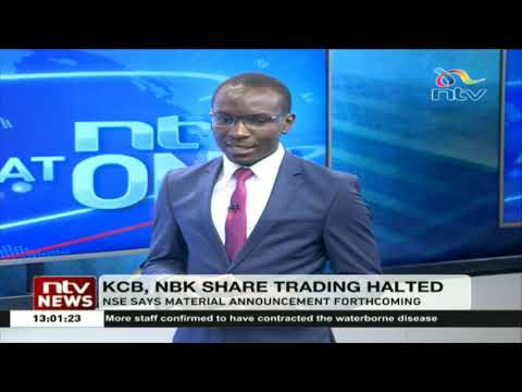 KCB, NBK share trading halted