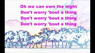 Madcon - Don't Worry ft. Ray Dalton - Lyrics