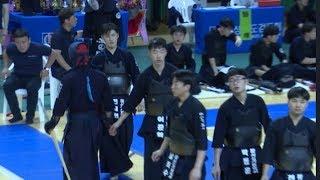 2019 대구대 총장기 전국중고등학교검도대회 단체전 마산가포고 VS 유성고