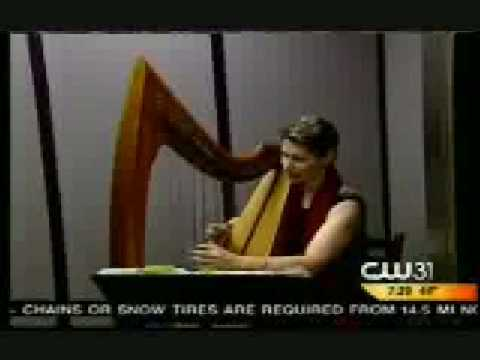 Harpist Anne Roos plays inside an elevator! She will teach you how to prepare for performing anywhere!