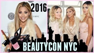 Beautycon NYC 2016 Vlog FancyVlogs By Gab
