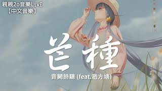 音闕詩聽 - 芒種 (feat.趙方婧)【動態歌詞Lyrics】