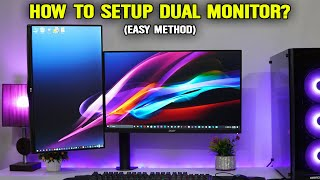 How To Setup Dual Monitors in Windows 10 for Gaming/Streaming (Hindi)
