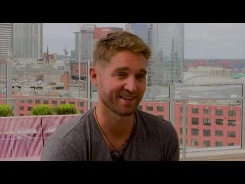 Country singer Brett Young is country music's newest heartbreak kid with several No. 1 hits. He said the key to his success has been the inspiration from his fiancée and his vulnerability. (Sept. 14).