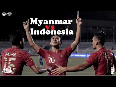 Indonesia vs Myanmar Jadwal Live TV Online Metube RCTI Semifinal Sepakbola SEA Games 2019