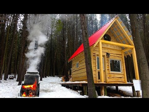 MAPLE SYRUP at the SUGAR SHACK in the Woods! | Home Made Evaporator Built from Scrap Metal