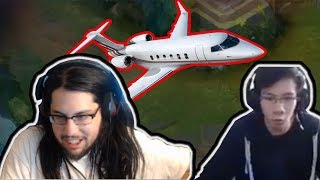 IMAQTPIE TRAVELED WITH A PRIVATE JET | SHIPHTUR REACTS TO BARON STEAL | LOL MOMENTS