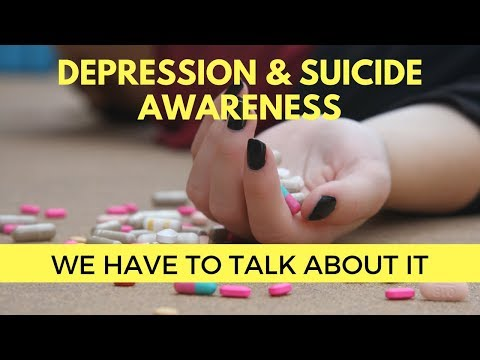 Depression & Suicide Awareness | It's an epidemic and we have to talk about it