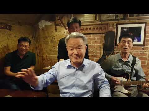 Old Korean men cover The Beach Boys