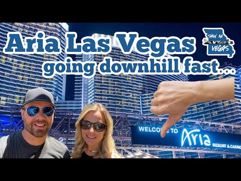 Why we won't be back to Aria any time soon!  YIKES!