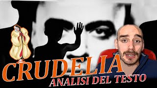 Crudelia (I Nervi), MARRACASH   Analisi Del Testo