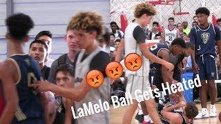 Ajare Sanni Scores on LaMelo Ball then LaMelo Ball Gets his Revenge