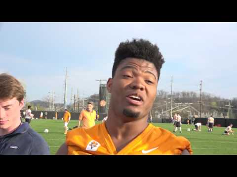Spring Football | Players Media Session (March 23, 2017)
