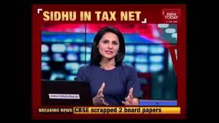 Punjab Min Navjot Singh Sidhu In Tax Net For Evading Tax For 5 Years