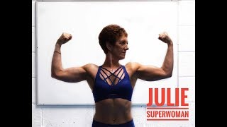"Six Pack Ab Workout with Julie ""SuperWoman"""