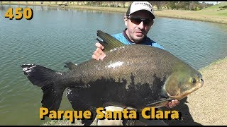 Pescaria de inverno no Parque Santa Clara - Fishingtur na Tv 450