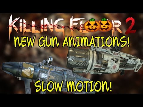 Killing floor 2   HEMOGOBLIN AND SEEKER SIX ANIMATIONS! - Slow Motion Look!